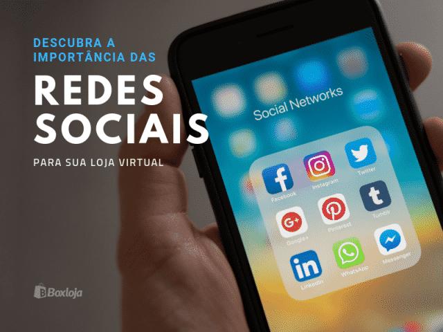 importância das redes sociais para a loja virtual